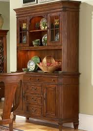 cotswold manor buffet u0026 hutch in medium brown cherry finish by