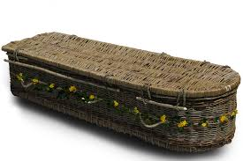 wicker casket wicker coffin compare the coffin