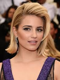 flip hairstyles for long face shape dianna agron flip hairstyle for medium length hair styles weekly