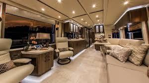 Luxury Rv Floor Plans Featherlite Coaches Luxury Prevost Conversions U0026 Motorhomes