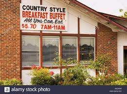 all you can eat breakfast buffet sign usa diet and nutrition