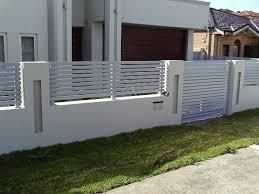 modern fence gate design modern fence design ideas fencing