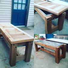 how to make an outdoor coffee table ice chest blog