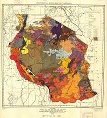 Tanzania Map Soil Map Of Tanzania M A P S Pinterest Tanzania And Africa