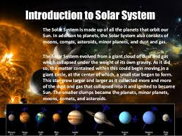 solar system a powerpoint presentation by tanisha pahwa 5th