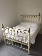 Brass Double Bed Frame Cast Iron Bed Ebay