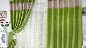 green curtains amazoncom interdesign leaves fabric shower curtain