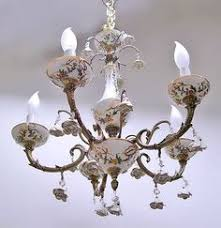 porcelain chandelier roses beautiful chandelier from with porcelain roses