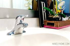 how to remove old bathroom faucet image titled replace a bathroom
