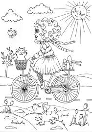peppy april coloring free printable coloring pages