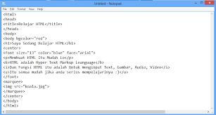 tutorial membuat web html sederhana cara membuat web sederhana menggunakan html bdc live