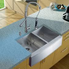 Drop In Stainless Steel Sink Fascinating Wooden Kitchen Cabinet With Double Bowl Drop In
