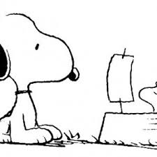 snoopy play hockey coloring pages place color