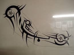tribal sleeve stencil 2015