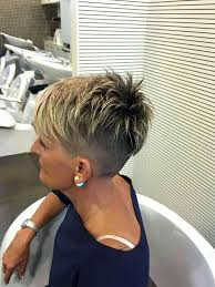 very short razor cut hairstyles 497 best cheveux images on pinterest hair cut shaved hair and