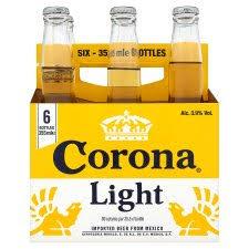 calories in corona light beer corona light 6 pack 355ml groceries tesco groceries