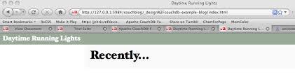 couchdb design document editor managing design documents