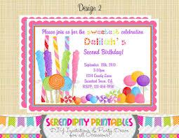 diy invitations templates candyland invitation templates cloudinvitation com