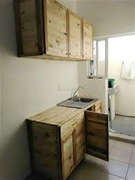 Pictures Of Kitchen Cabinet Kitchen Cabinet Made From A Pallet Stuff To Try Pinterest