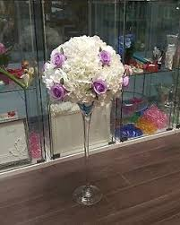 Martini Glass Vase Flower Arrangement Centerpiece Rental Find Or Advertise Wedding Services In Toronto