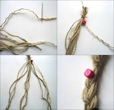 hippie hair bands hippie inspired hemp cord hair band how to braid a headband