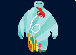 design by humans uk baymax t shirt design by dinomike