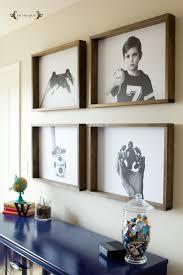 wood frame wall decor remodelaholic 60 budget friendly diy large wall decor ideas