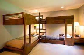 Bunk Beds For 4 Bunk Beds For Four Wonderful Space Saving Additions To The