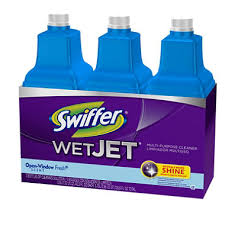 swiffer wetjet multi purpose floor cleaner solution 3 1 25 l