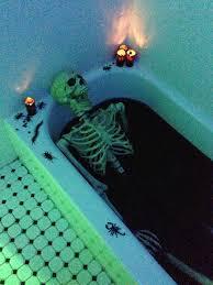 Bathtub Halloween Costume Skeleton Bloody Bathtub Halloween Party Decoration Manning