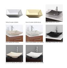 Amare WallMounted Single Bathroom Vanity Set With Vessel Sink - Bathroom vanity for vessel sink 2