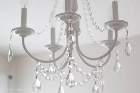 Adding Crystals To Chandelier Diy Crystal Chandelier Easy Tutorial