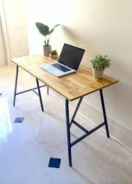 desk long thin desk throughout magnificent narrow table etsy