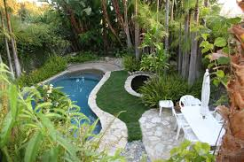 tropical pool landscaping ideas backyard newest for small