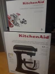 kitchenaid professional hd stand mixer black matte kg25h0xbm