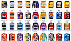 nfl sweaters countdown to nfl releases sweaters for every team