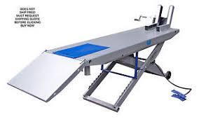 Motorcycle Lift Table by New Kernel M1000c 1000 Lb Motorcycle Lift Lifting Table With Side
