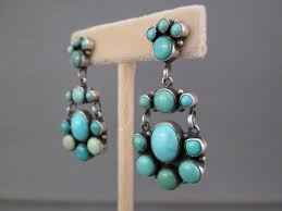 turquoise earrings carico lake turquoise earrings american turquoise earrings