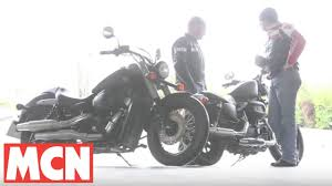 harley sportster iron 883 v honda vt750c shadow youtube