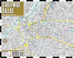 Dallas Metroplex Map by Streetwise Dallas Map Laminated City Center Street Map Of Dallas