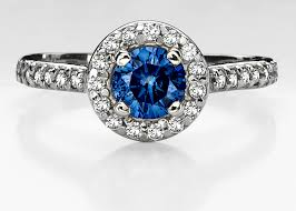blue engagement rings blue engagement rings a possibility for all brides