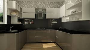Contemporary U Shaped Kitchen Designs C Shaped Modular Kitchen Designs White Pine Wood Kitchen Cabinet