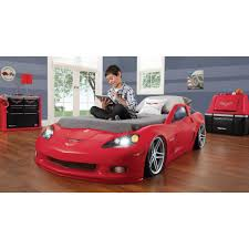 blue corvette bed legare furniture race car series collection bed blue by
