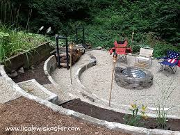 Backyard Fire Ring by In Ground Outdoor Fire Pit Designs
