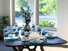 dining furniture modern beautiful design teal dining table idea