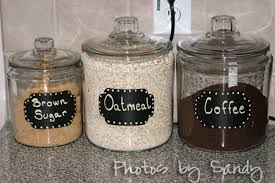 kitchen canister labels chalkboard canister labels archives organize with