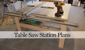 how to build a table saw workstation our home from scratch