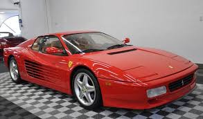80s ferrari low mileage rosso corsa 1991 ferrari testarossa for sale
