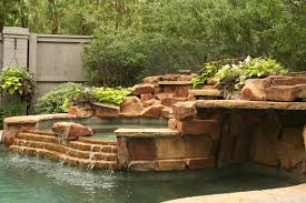 Backyard Landscaping With Pool by Lush Backyard Landscape With Pool U2022 Verdant Grounds