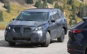Subaru Three Row 2019 Subaru Tribeca Three Row 7 Seat Suv Spy Shots Cars Coming Out